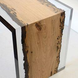 resina epóxi transparente